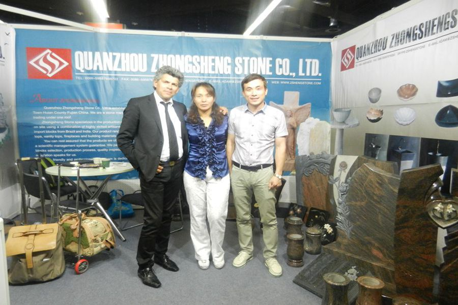 Zhongsheng Stone Attend 2015 Monument Exhibition in Germany