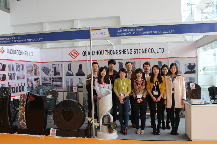 Zhongsheng Stone Attend 2015 Xiamen Stone Fair