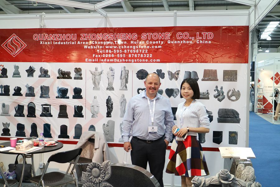 Zhongsheng Stone Attend 2017 Monument Exhibition in UK