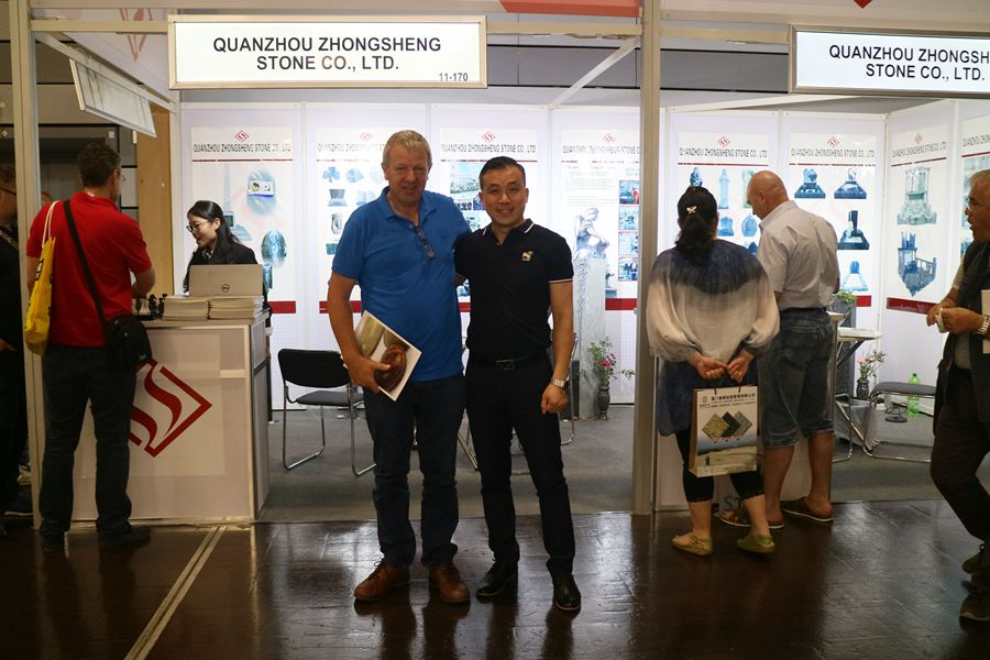 Zhongsheng Stone Attend 2018 Monument Exhibition in Germany