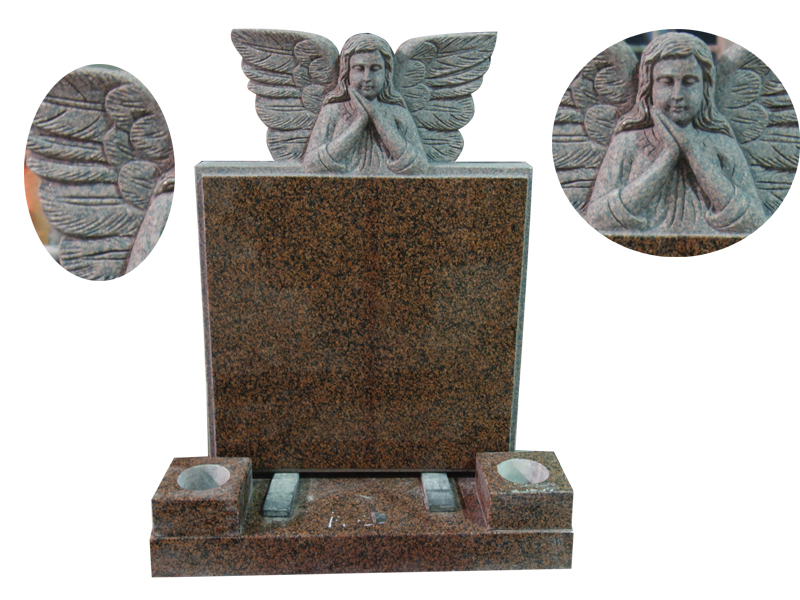 Sleeping Angel Wings Memorial