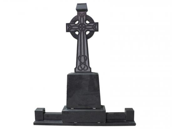 Granite Celtic Cross Headstone